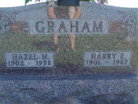 GRAHAM, HARRY E - Warren County, Iowa | HARRY E GRAHAM