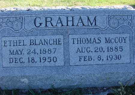 GRAHAM, ETHEL BLANCHE - Warren County, Iowa | ETHEL BLANCHE GRAHAM