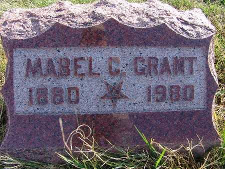 GRANT, MABEL C. - Warren County, Iowa | MABEL C. GRANT
