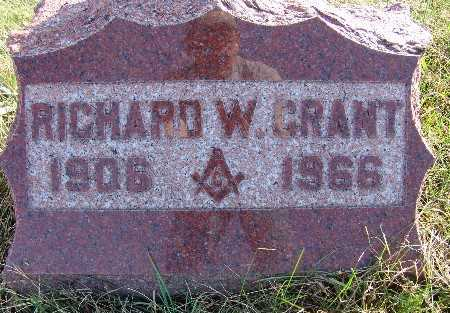 GRANT, RICHARD W. - Warren County, Iowa | RICHARD W. GRANT