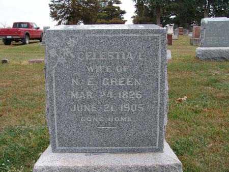 GREEN, CELLESTIAL - Warren County, Iowa | CELLESTIAL GREEN