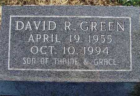 GREEN, DAVID R. - Warren County, Iowa | DAVID R. GREEN