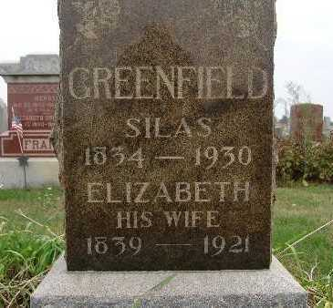 GREENFIELD, ELIZABETH - Warren County, Iowa | ELIZABETH GREENFIELD