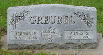 GREUBEL, AGNES S - Warren County, Iowa | AGNES S GREUBEL