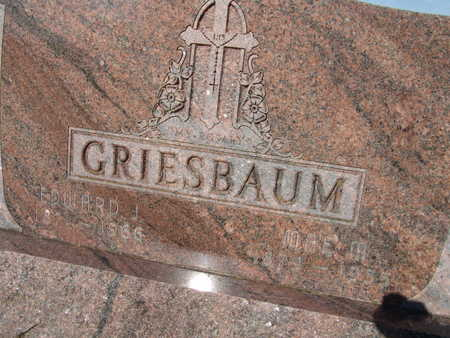 GRIESBAUM, EDWARD J. - Warren County, Iowa | EDWARD J. GRIESBAUM