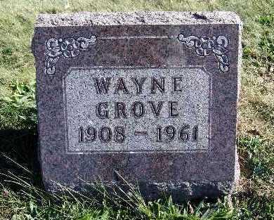 GROVE, WAYNE - Warren County, Iowa | WAYNE GROVE