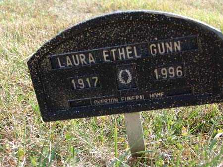 GUNN, LAURA ETHEL - Warren County, Iowa | LAURA ETHEL GUNN