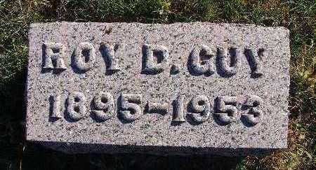 GUY, ROY D. - Warren County, Iowa | ROY D. GUY