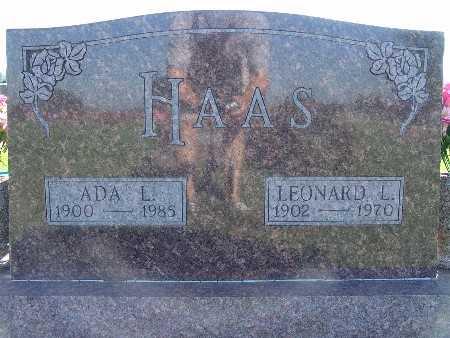 HAAS, LEONARD L - Warren County, Iowa | LEONARD L HAAS
