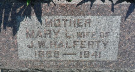 HALFERTY, MARY L. - Warren County, Iowa | MARY L. HALFERTY