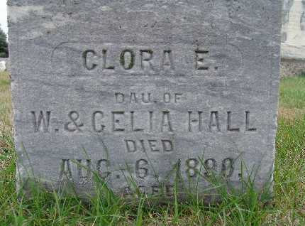 HALL, CLORA E. - Warren County, Iowa | CLORA E. HALL