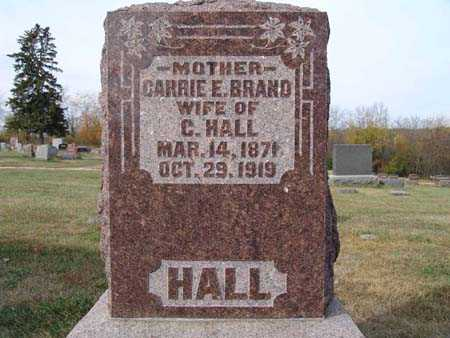 HALL, CARRIE E. BRAND - Warren County, Iowa | CARRIE E. BRAND HALL