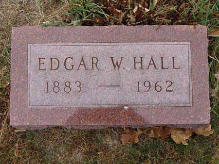 HALL, EDGAR W. - Warren County, Iowa | EDGAR W. HALL