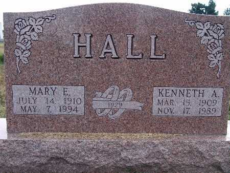 HALL, MARY E. - Warren County, Iowa | MARY E. HALL