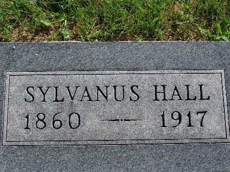 HALL, SYLVANUS - Warren County, Iowa | SYLVANUS HALL