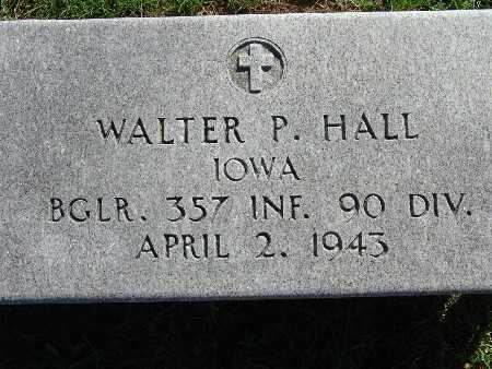 HALL, WALTER P - Warren County, Iowa | WALTER P HALL
