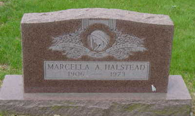 HALSTEAD, MARCELLA A - Warren County, Iowa | MARCELLA A HALSTEAD