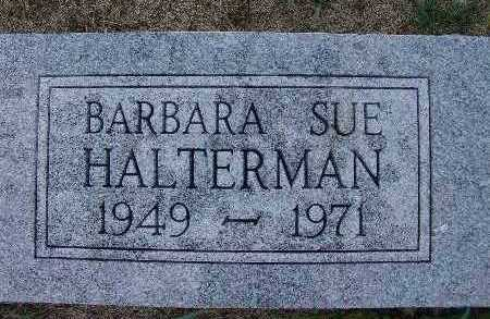 HALTERMAN, BARBARA SUE - Warren County, Iowa | BARBARA SUE HALTERMAN