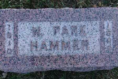 HAMMER, W. PARK - Warren County, Iowa | W. PARK HAMMER