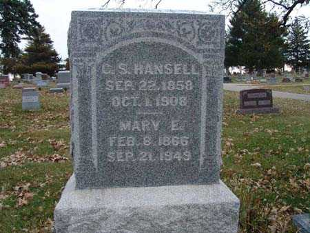 HANSELL, MARY E. - Warren County, Iowa | MARY E. HANSELL