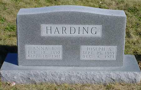 MELLOR HARDING, ANNA E. - Warren County, Iowa | ANNA E. MELLOR HARDING