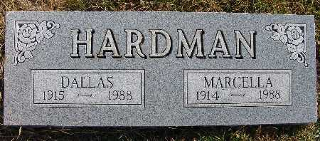 HARDMAN, MARCELLA - Warren County, Iowa | MARCELLA HARDMAN