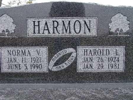 HARMON, NORMA V. - Warren County, Iowa | NORMA V. HARMON
