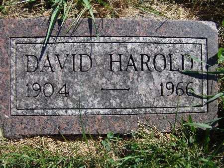 WANDLING, DAVID HAROLD - Warren County, Iowa   DAVID HAROLD WANDLING