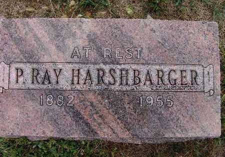 HARSHBARGER, P. RAY - Warren County, Iowa | P. RAY HARSHBARGER