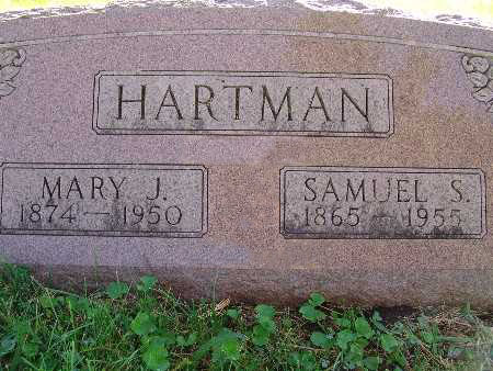 HARTMAN, MARY J. - Warren County, Iowa | MARY J. HARTMAN