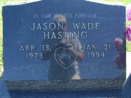 HASTING, JASON WADE - Warren County, Iowa | JASON WADE HASTING