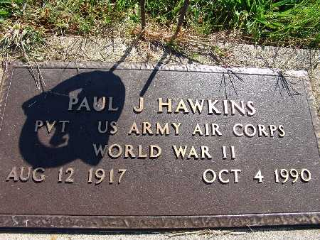HAWKINS, PAUL J. - Warren County, Iowa | PAUL J. HAWKINS