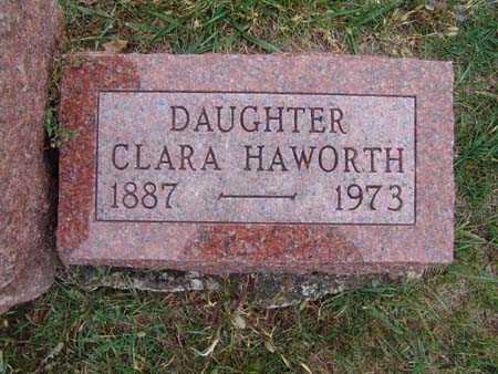 HAWORTH, CLARA - Warren County, Iowa | CLARA HAWORTH