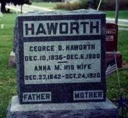 HAWORTH, GEORGE - Warren County, Iowa | GEORGE HAWORTH