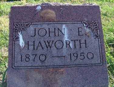 HAWORTH, JOHN E. - Warren County, Iowa | JOHN E. HAWORTH