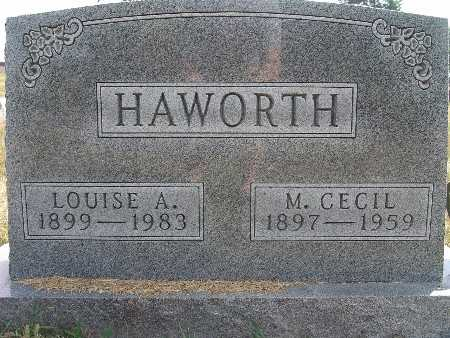 HAWORTH, M. CECIL - Warren County, Iowa | M. CECIL HAWORTH