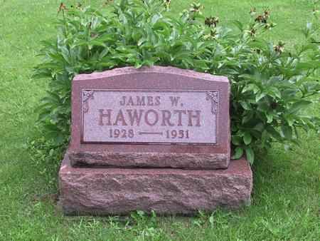 HAWORTH, JAMES W. - Warren County, Iowa | JAMES W. HAWORTH