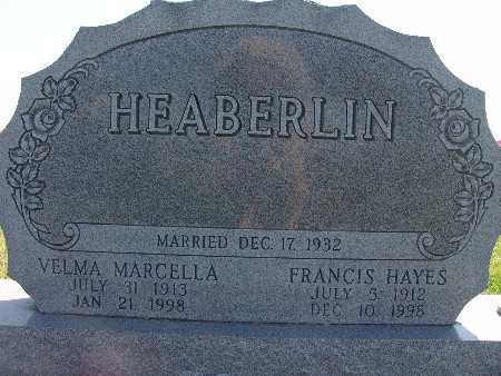 HEABERLIN, VELMA MARCELLA - Warren County, Iowa | VELMA MARCELLA HEABERLIN
