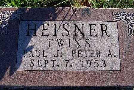 HEISNER, PETER A. - Warren County, Iowa | PETER A. HEISNER