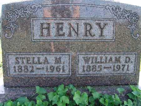 HENRY, WILLIAM D. - Warren County, Iowa | WILLIAM D. HENRY