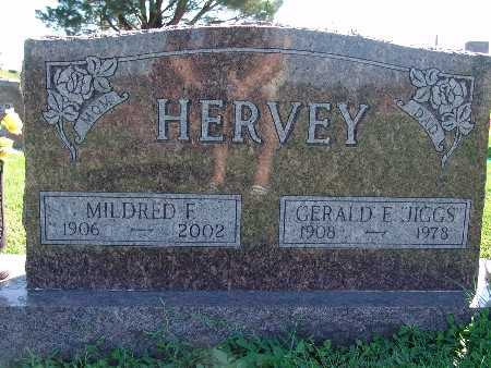 HERVEY, MILDRED F - Warren County, Iowa | MILDRED F HERVEY