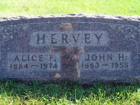 HERVEY, JOHN H - Warren County, Iowa | JOHN H HERVEY