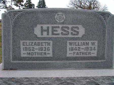 HESS, WILLIAM W. - Warren County, Iowa | WILLIAM W. HESS