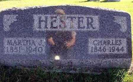 HESTER, MARTHA J. - Warren County, Iowa | MARTHA J. HESTER