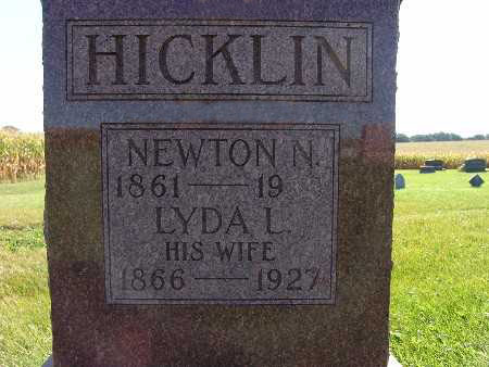 HICKLIN, LYDA L. - Warren County, Iowa | LYDA L. HICKLIN