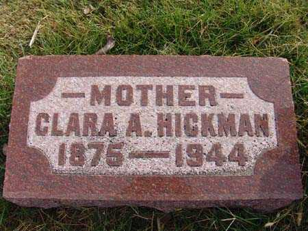 HICKMAN, CLARA A. - Warren County, Iowa | CLARA A. HICKMAN