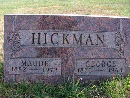 HICKMAN, MAUDE - Warren County, Iowa | MAUDE HICKMAN