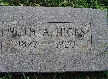 HICKS, RUTH A. - Warren County, Iowa | RUTH A. HICKS