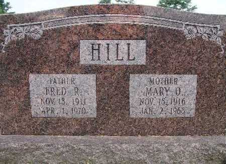 HILL, MARY O. - Warren County, Iowa | MARY O. HILL