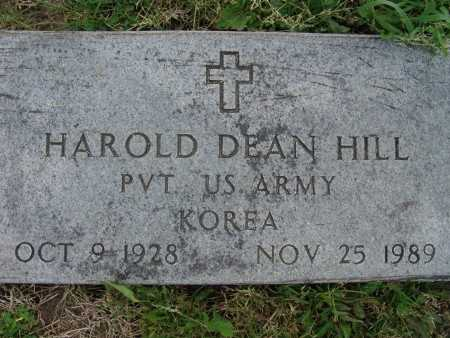 HILL, HAROLD DEAN - Warren County, Iowa | HAROLD DEAN HILL